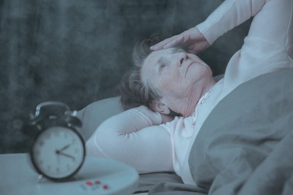 Anxiety keeping you awake Image