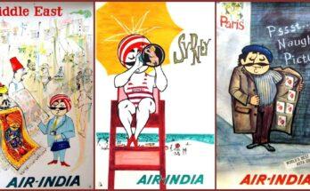 Air -India Maharaja Ads