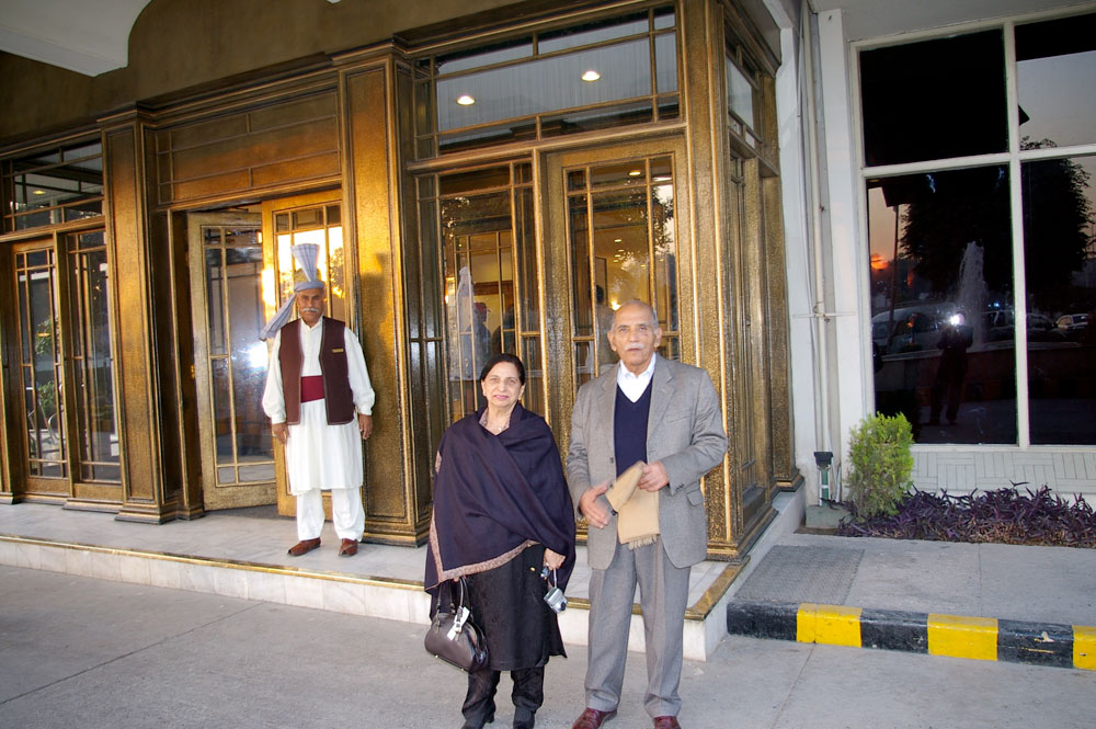The Kohlis on a visit to Peshawar
