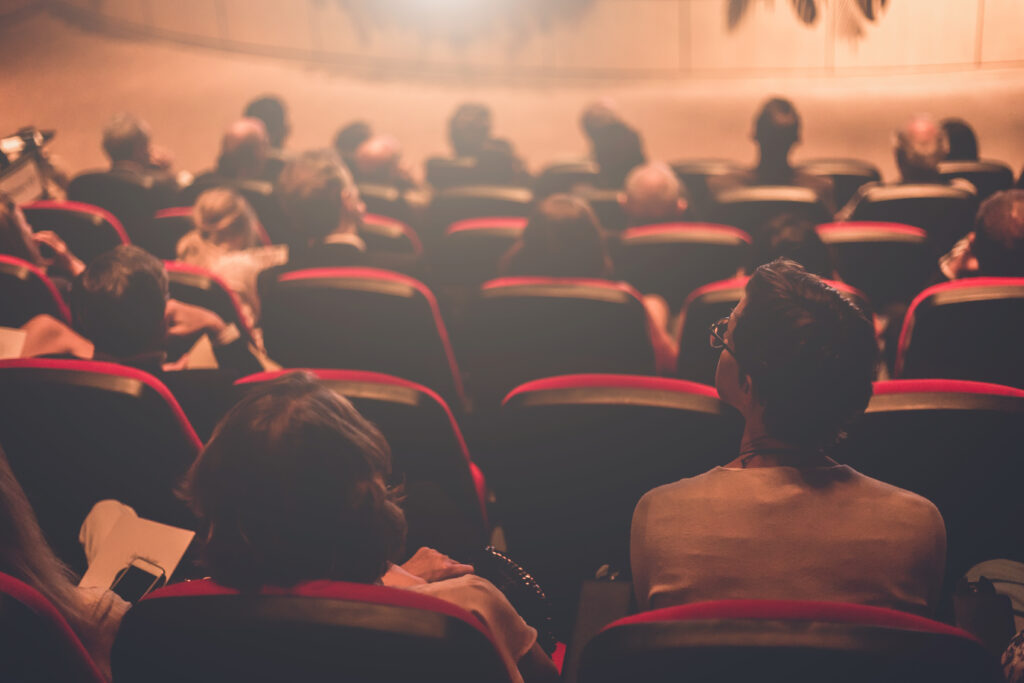 It's probably safest to stay away from non-essential activities like movies, which take you to crowded spaces