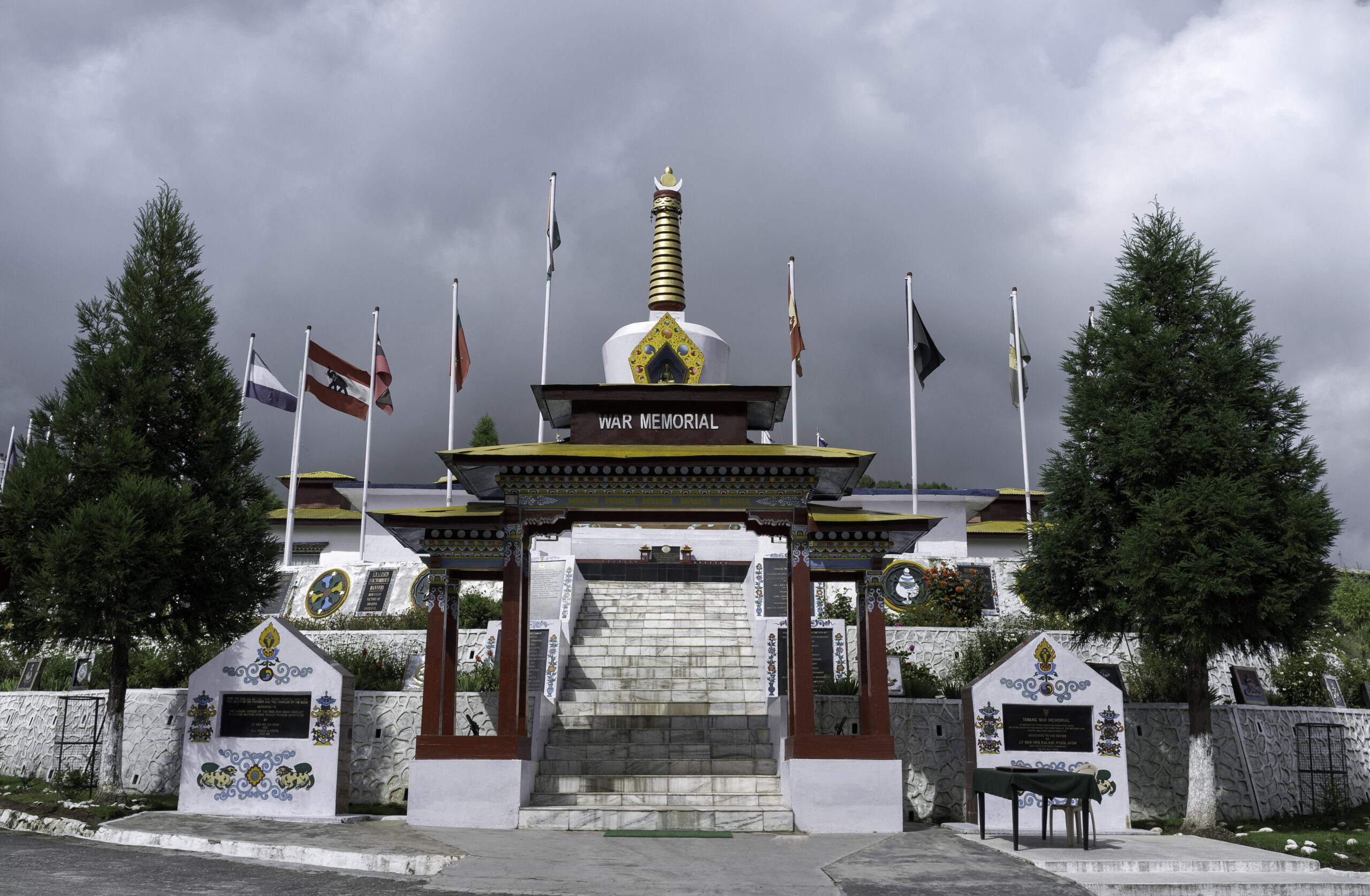 Indo-China war of 1962 on September 20, 2011 in Tawang war memorial, Arunachal Pradesh, north east India.
