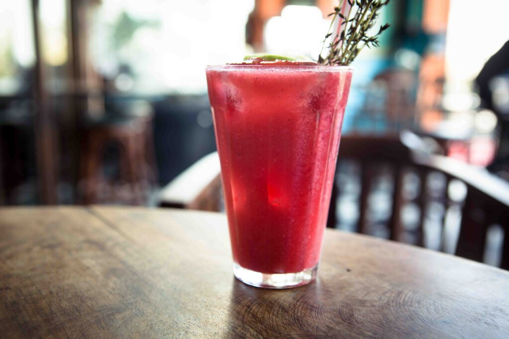 You couldn't possibly have a Parsi meal without raspberry soda