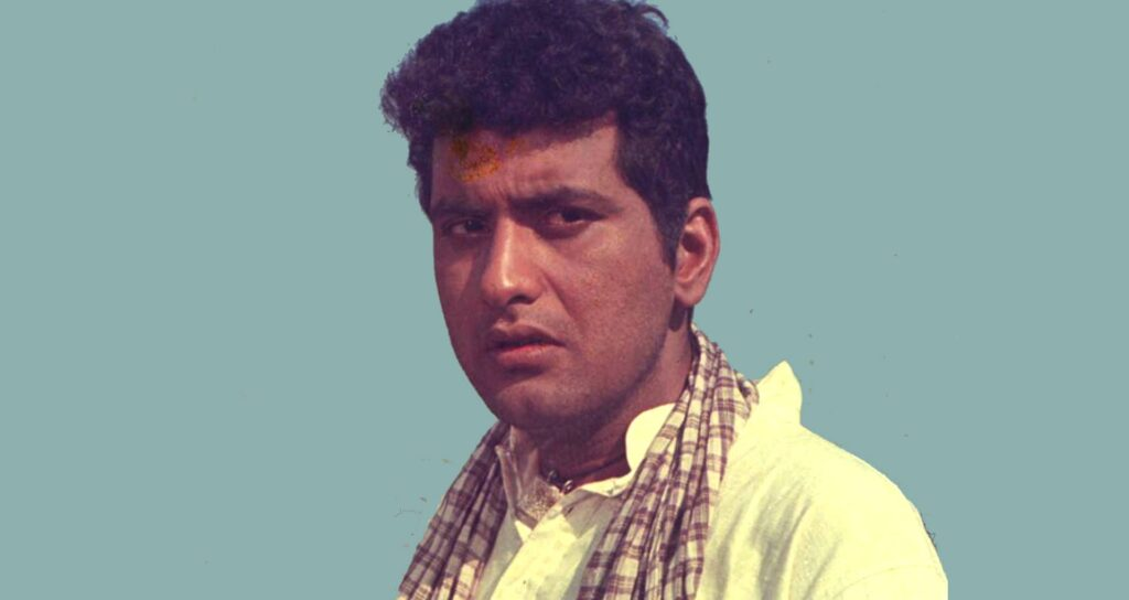 """Manoj Kumar in Upkar. """"Bharat is not just a character one can assume at will. You have to live it, breathe it, it must be steeped in you."""""""