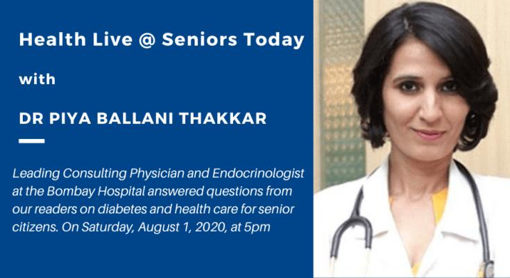 Takeaways from Health Live @ Seniors Today with Dr Piya Ballani Thakkar