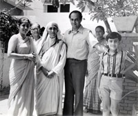 Navin and Rupika then (with Mother Teresa)_SeniorsToday