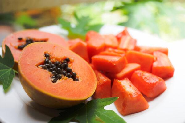 Papaya face pack Image