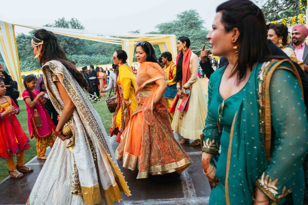 Besides the naach-gaana, the main point of a Punjabi wedding is to find out who is still unmarried, and why