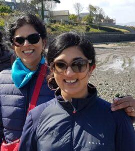 Anjali and Karishma