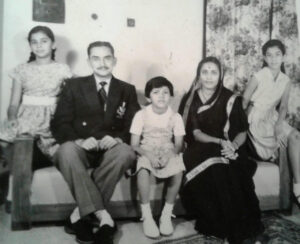 Brigadier Bhonsale and family