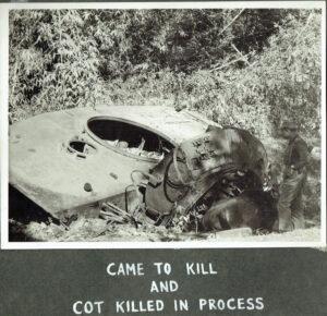 Pakistani Chaffee tank destroyed during the Battle of Garibpur
