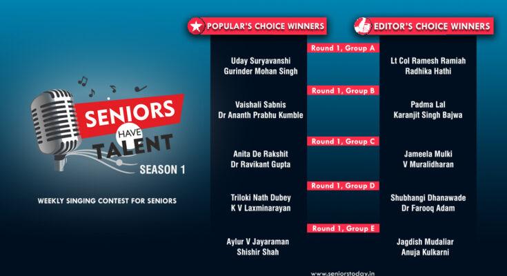 Seniors Have Talent - Season 1
