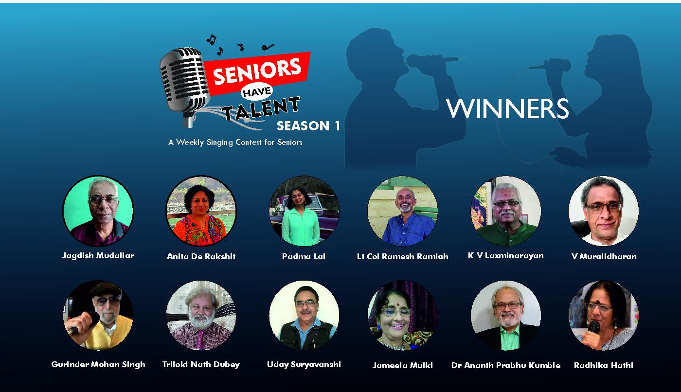 Top 12 - Seniors Have Talent Season 1