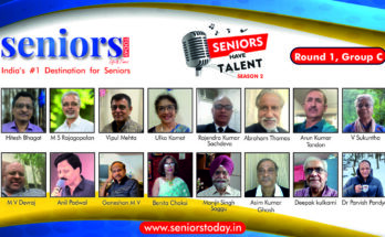 Live Seniors Have Talent Season 2 - Round 1, Group C - Seniors Today