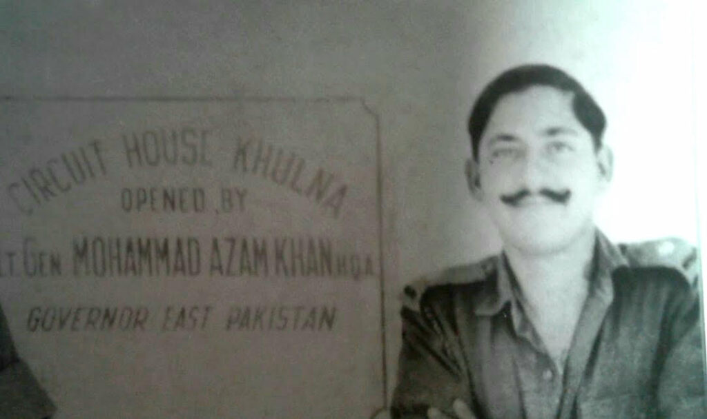 On my 22nd birthday, December 18, 1971, in the Pakistan Officers Mess which we had taken charge of, after the surrender in Khulna. The best birthday gift, to be ever enjoyed, the Taste of Victory