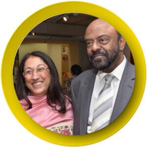 19. Kiran & Shiv Nadar
