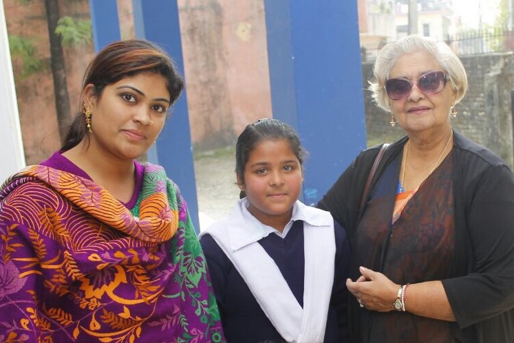 Lalita Arya with Current and Former Student 2018