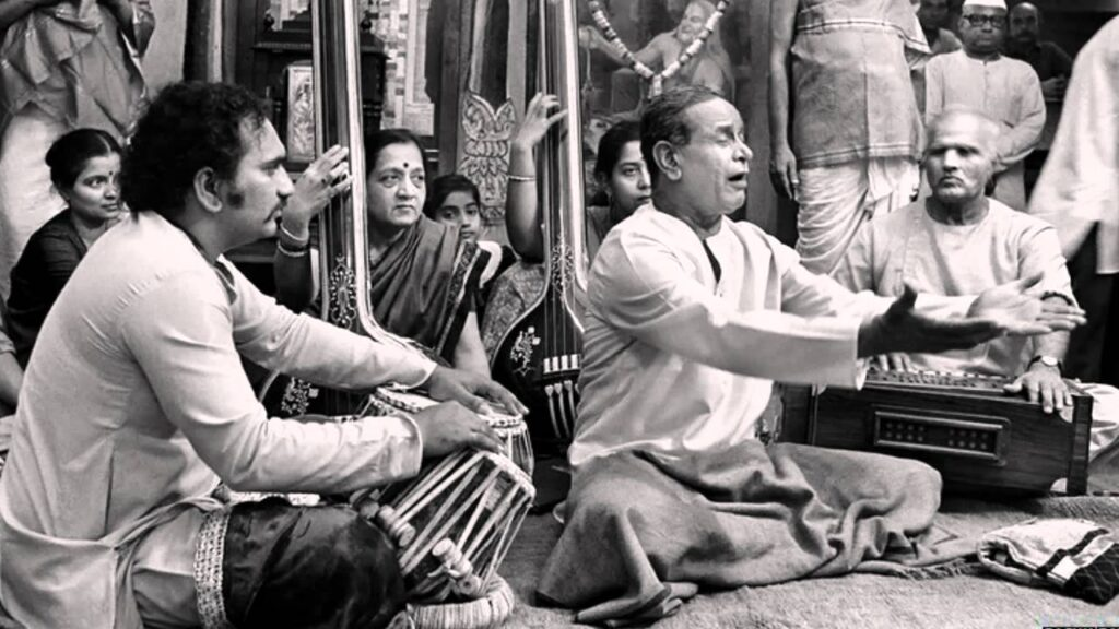 Pt Bhimsen Joshi left audiences enthralled, and evidenced complete focus during his performances