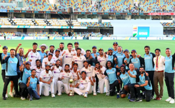 India wins against Australia. Pic courtesy BCCI.TV