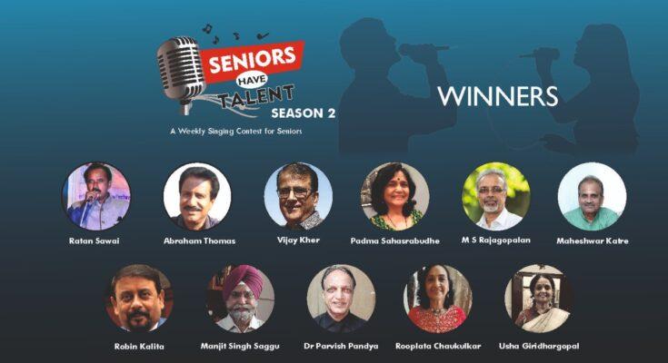 Seniors Have Talent Season 2 Winners