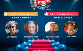 Seniors Have Talent Group F WInners