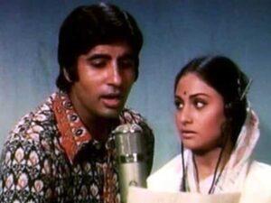 Amitabh Bachchan initially had hit songs with Jaya Bhaduri