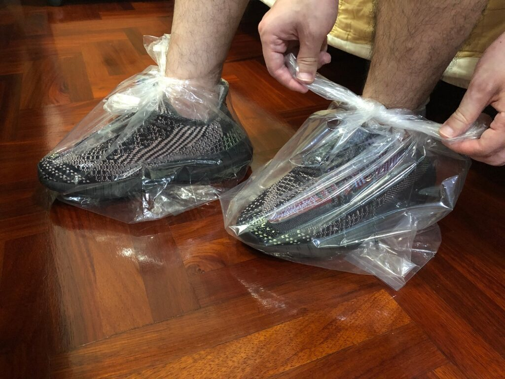 As protection for your shoes