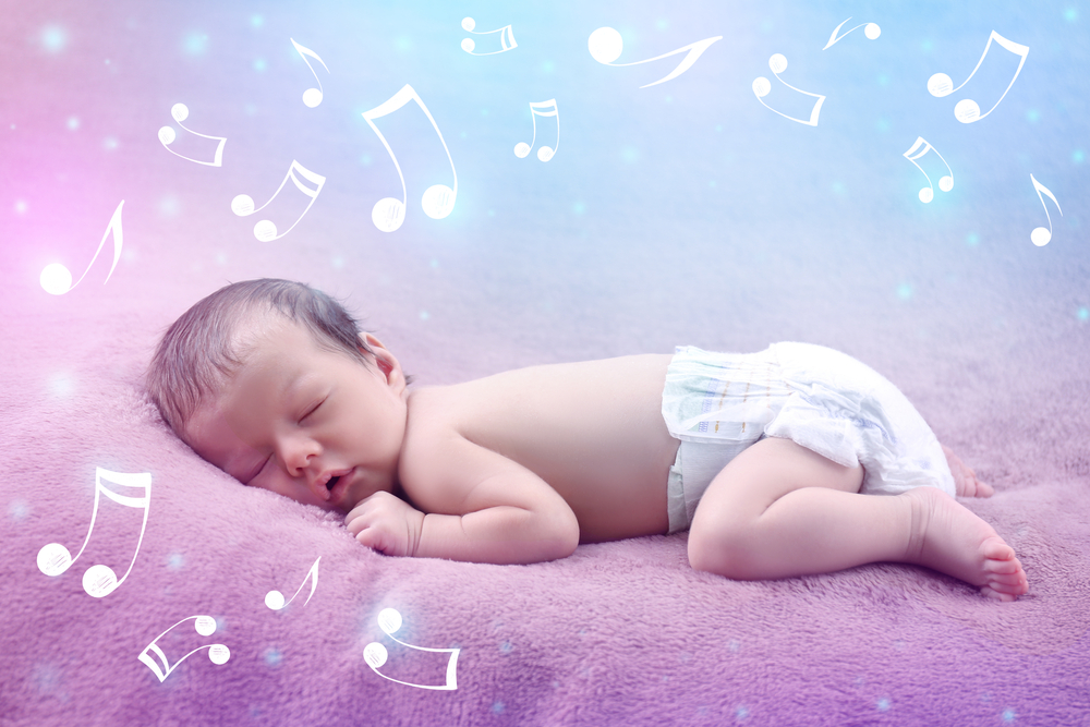 Exposing your baby to music can speed up the process of them learning to speak and help master complex language concepts faster