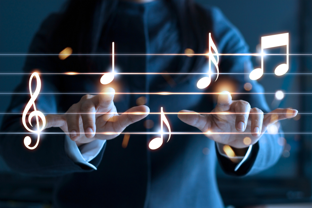 The healing power of music - Cover Image