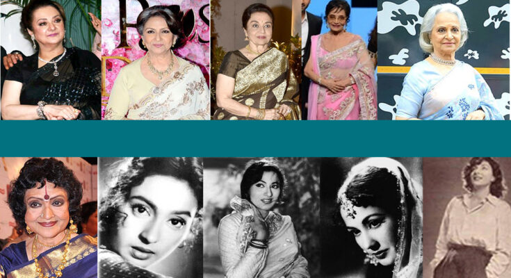 10 MOST LOVED WOMEN OF THE YESTERYEARS IN HINDI CINEMA