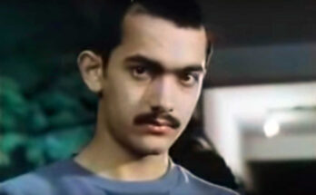 Aamir Khan in an early appearance in Holi, credited as Aamir Hussain