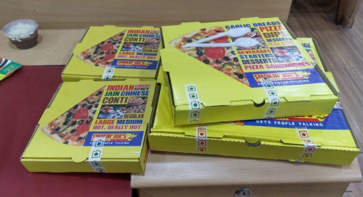 Smokin' Joe's Pizzas