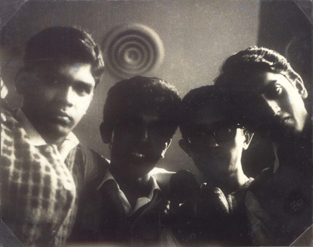 L to R - Prabhakar Mundkur, Ralph Pais, Hemant Rao, Bashir Sheikh
