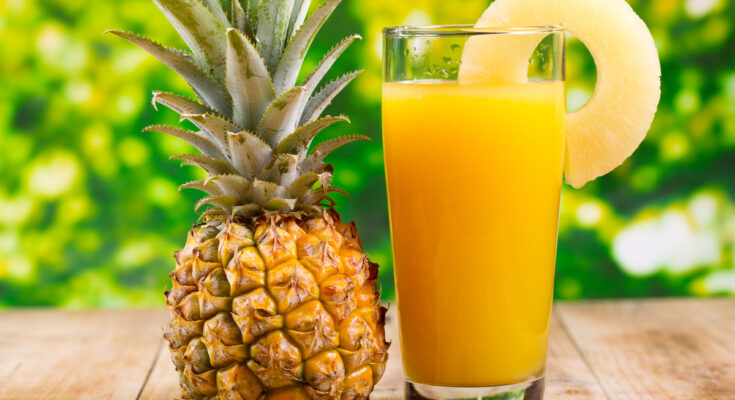 Pep Yourself Up with Some Pineapple Juice - Seniors Today