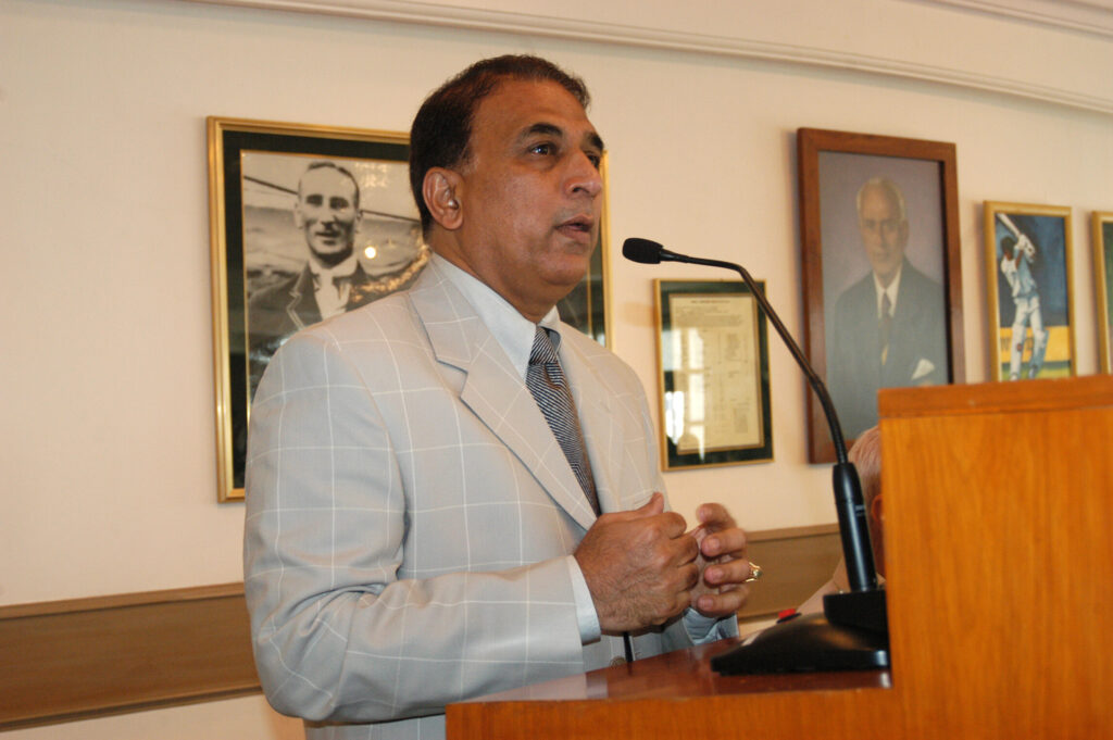 Gavaskar is a beacon for not just young cricketers, but the nation