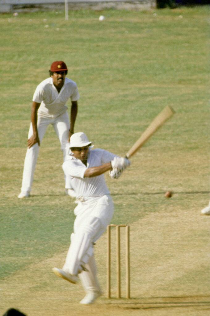 Gavaskar was not unaware of stats and numbers, and challenged himself to achieving milestones
