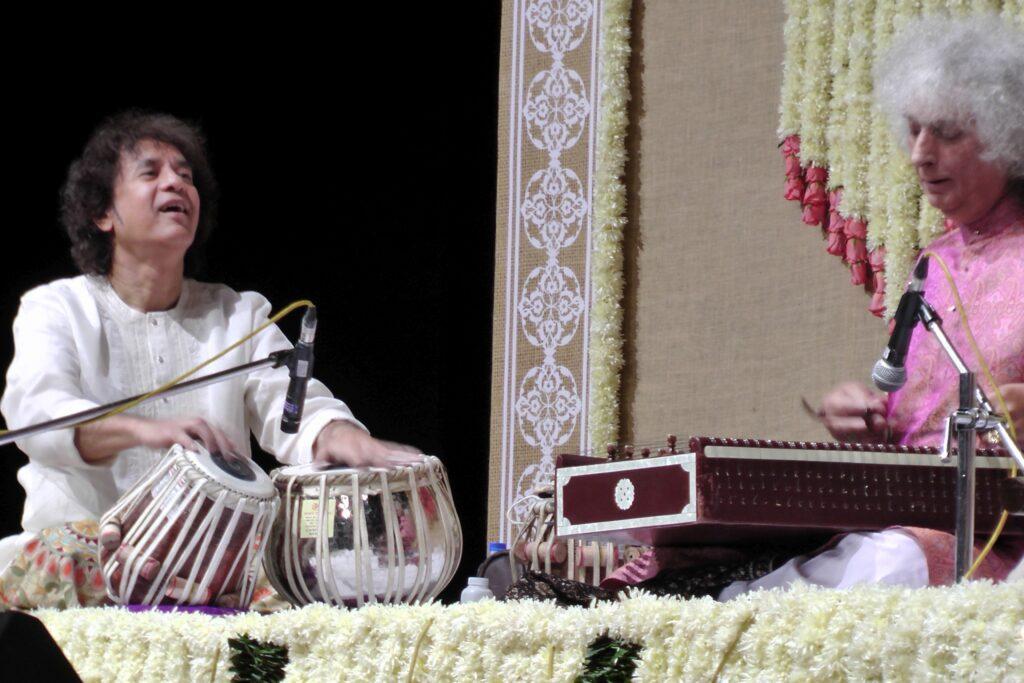 Pt Shivkumar Sharma is among Ustad Zakir Hussain's favourite musicians