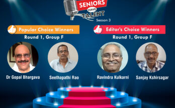 Seniors Have Talent Season 3 Group F Winners