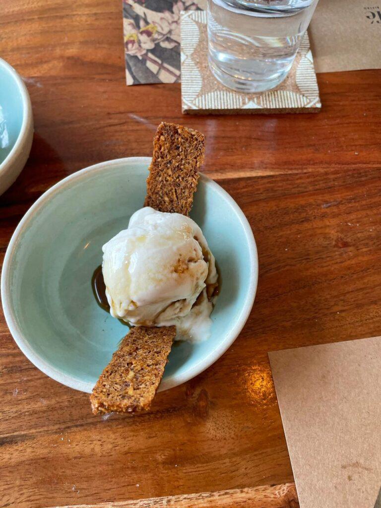 Coconut Cream n' Caramel Ice Cream (Vegan)