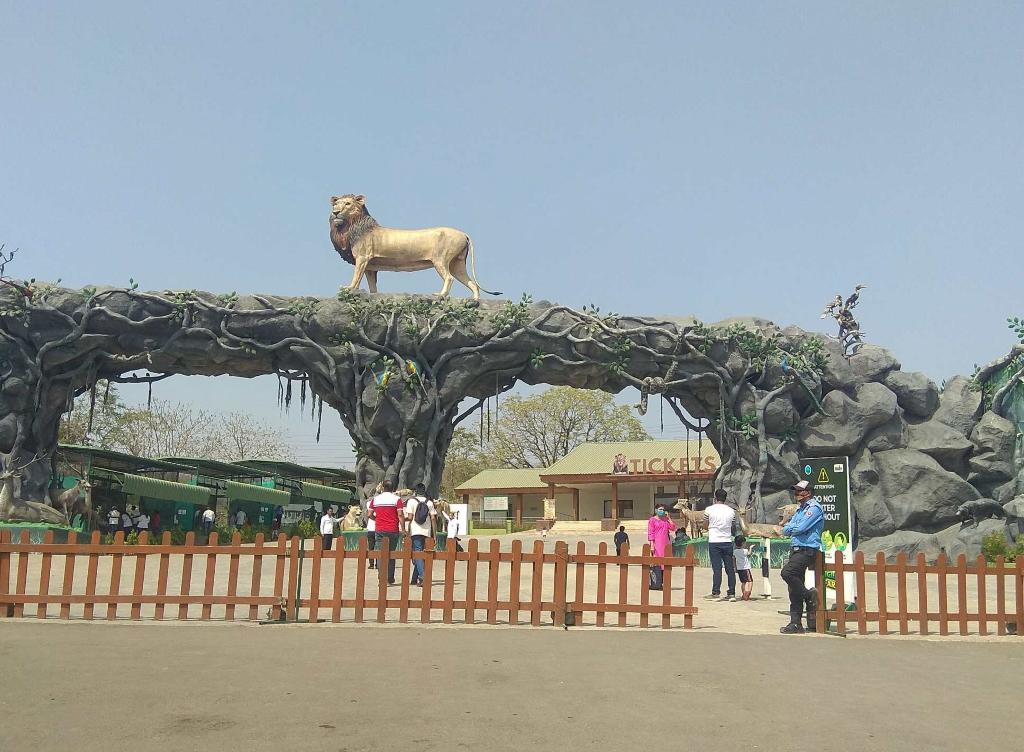Entrance to Jungle Safari