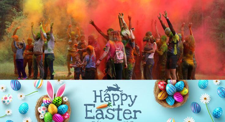 Fafda Files Easter 'Holi'-Day