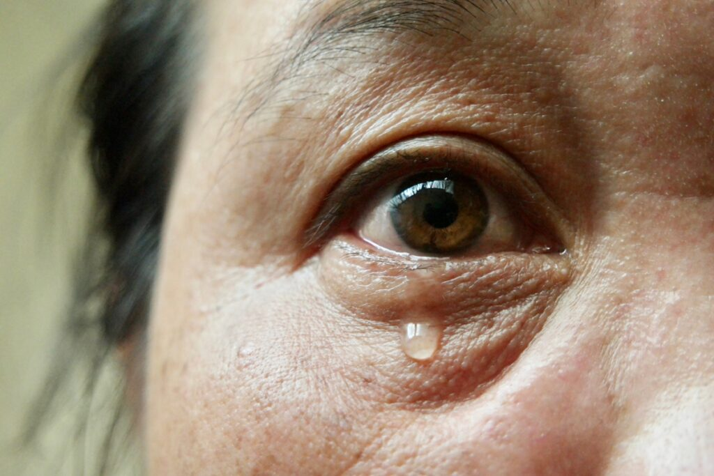Our tears have isoenzymes that fight infection naturally