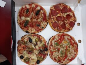 Combo Of 2 Veg and 2 Non Veg Pizzas