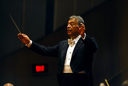 Zubin Mehta and the Israeli Philharmonic Orchestra @ Jamshed Bha