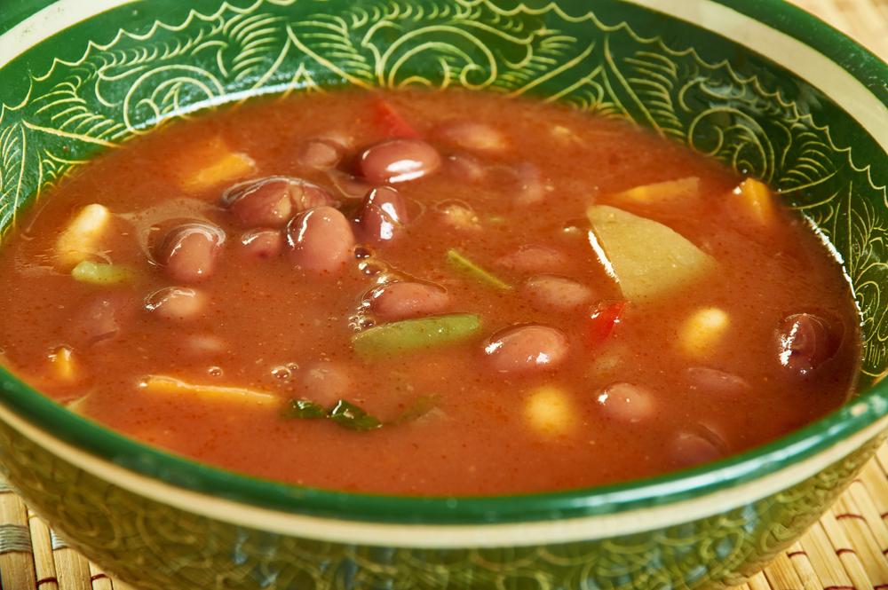 Barbecue Red Beans aka Kashmiri Rajma