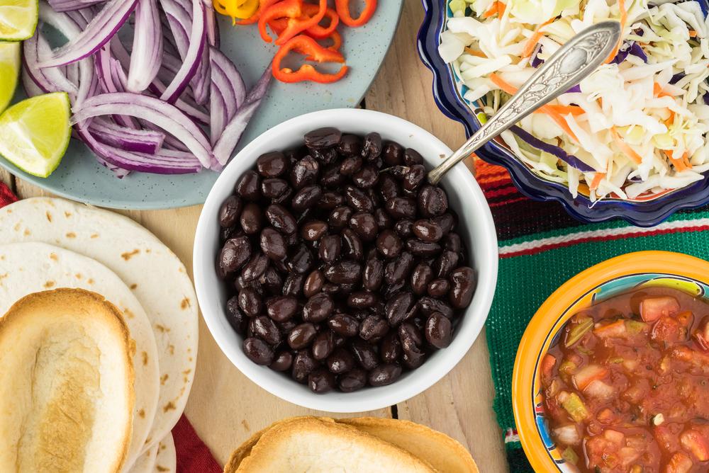Mashed Black Beans aka Kaale Sem
