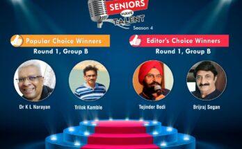 Seniors Have Talent: Season 4, Group B - Winners