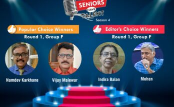 Seniors Have Talent Season 4, Group F Winners