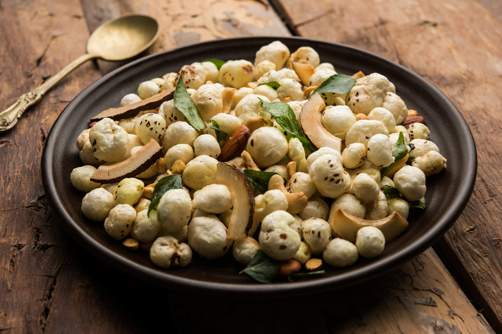 13 Foxnuts, jowar and nachni nuts instead of fried farsan - Seniors Today