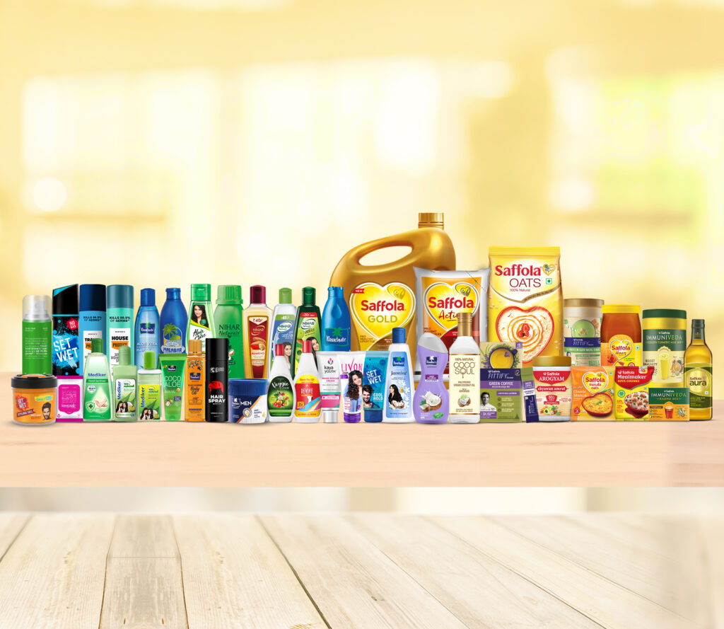 Pic A_ Marico range of products