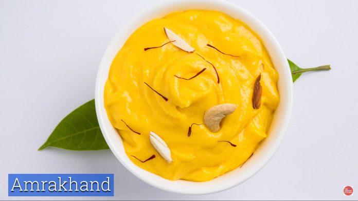 Amrakhand Recipe - The Seniors Kitchen